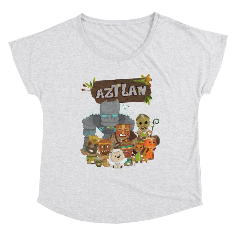 Aztlan - All Characters Women's Dolman Scoop Neck by Mimundogames's Artist Shop