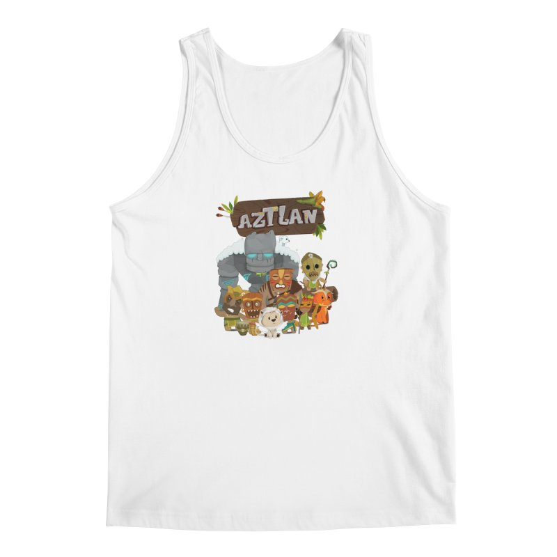 Aztlan - All Characters Men's Tank by Mimundogames's Artist Shop