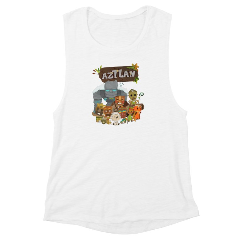 Aztlan - All Characters Women's Muscle Tank by Mimundogames's Artist Shop