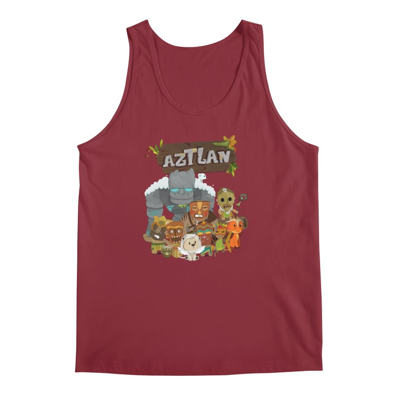 Aztlan - All Characters Men's Regular Tank by Mimundogames's Artist Shop