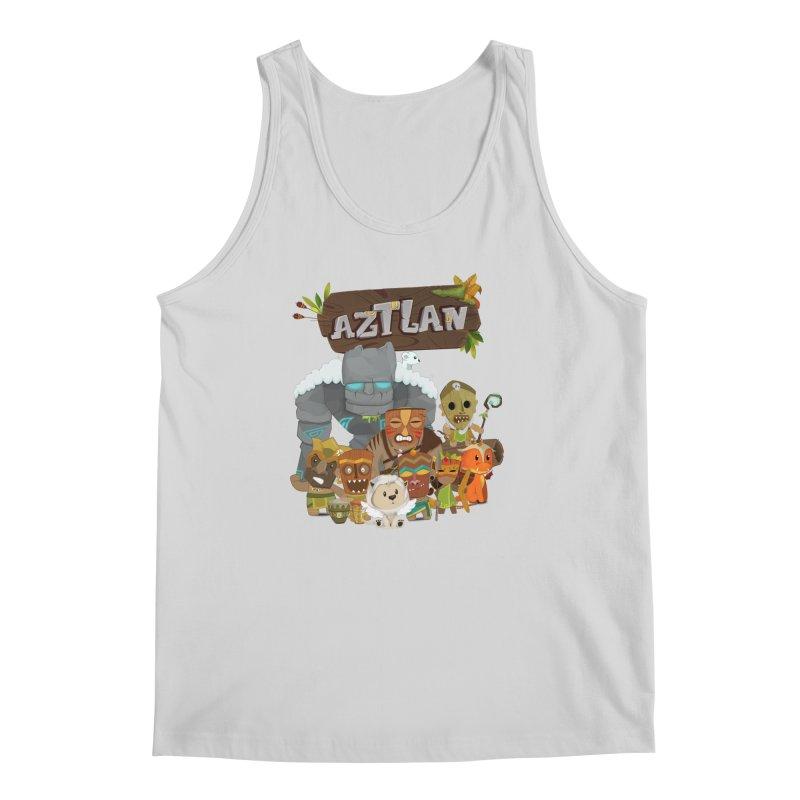 Aztlan - All Characters Men's Regular Tank by Mimundogames's Artist Shop