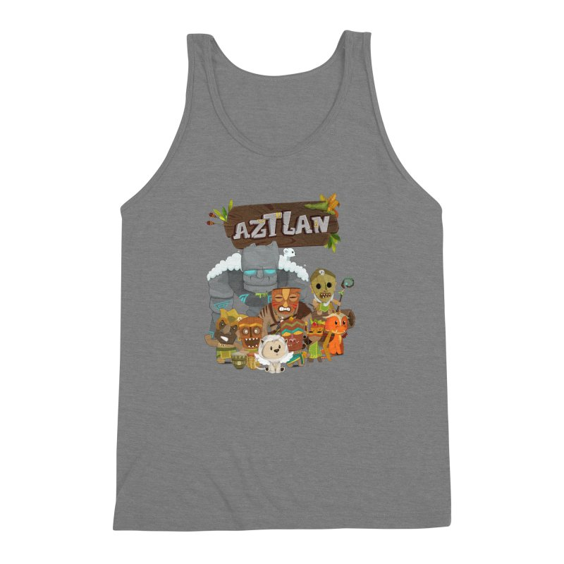 Aztlan - All Characters Men's Triblend Tank by Mimundogames's Artist Shop