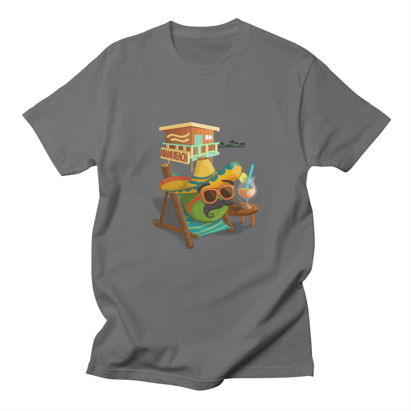 Juan at Miami Beach Men's T-Shirt by Mimundogames's Artist Shop