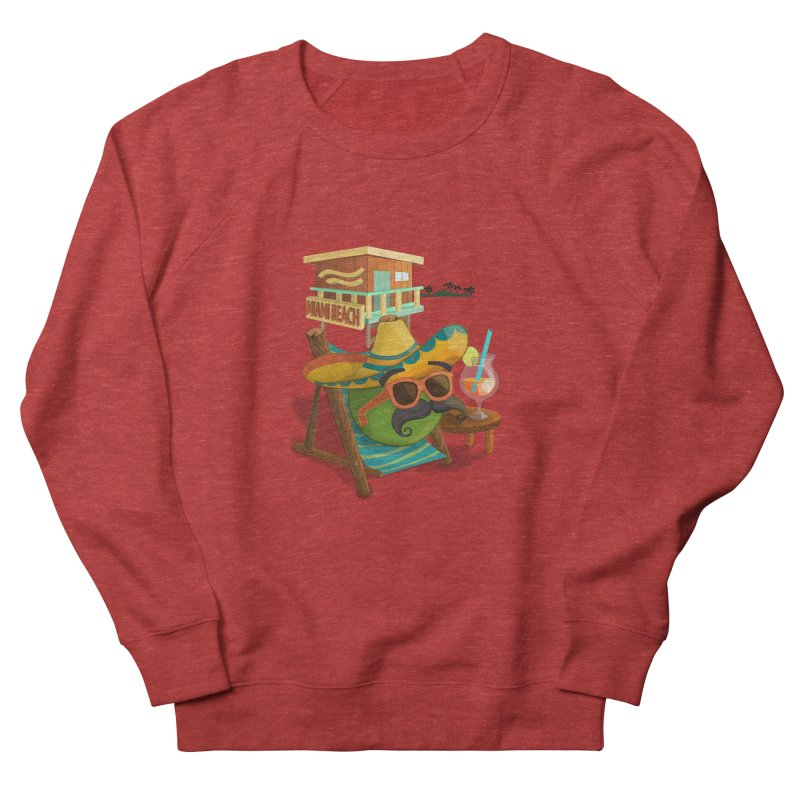 Juan at Miami Beach Men's Sweatshirt by Mimundogames's Artist Shop