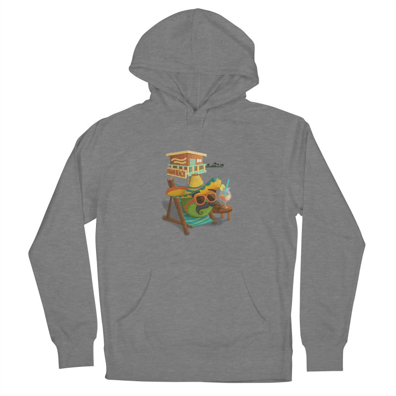 Juan at Miami Beach Women's Pullover Hoody by Mimundogames's Artist Shop