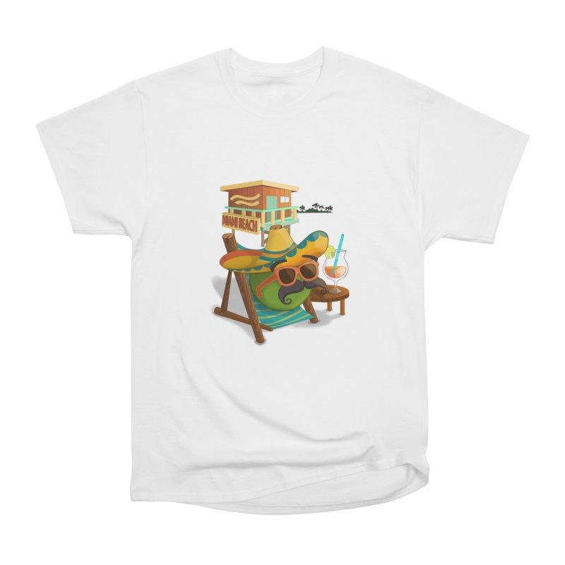 Juan at Miami Beach Men's T-Shirt by Mimundogames's Artist Shop