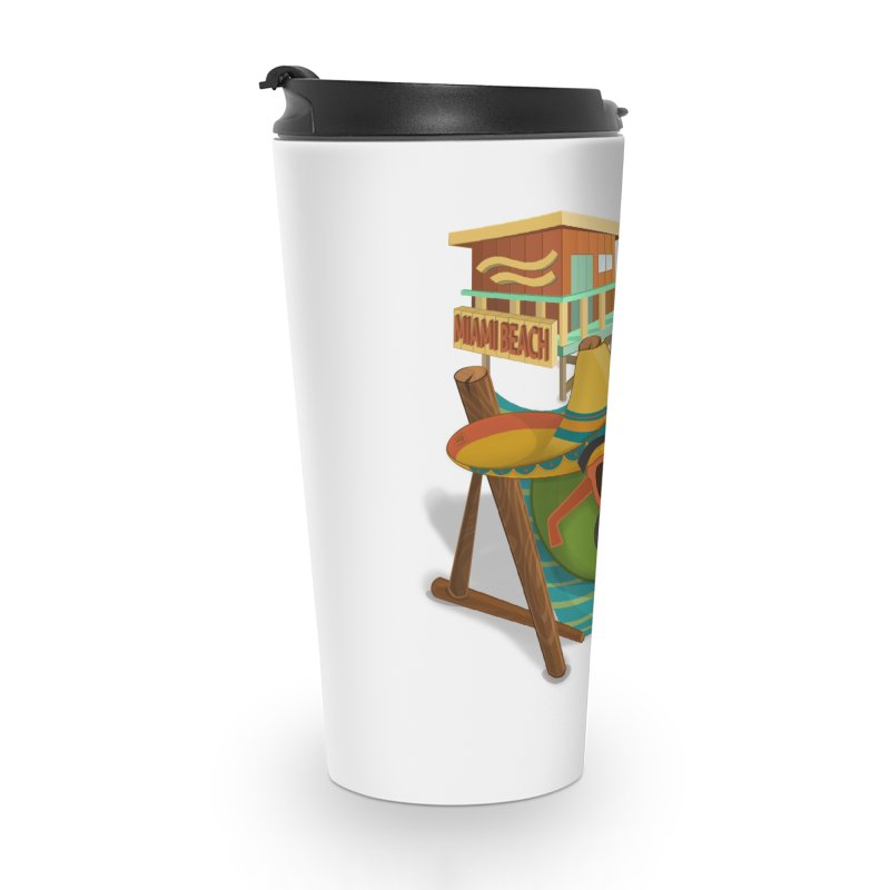 Juan at Miami Beach Accessories Mug by Mimundogames's Artist Shop