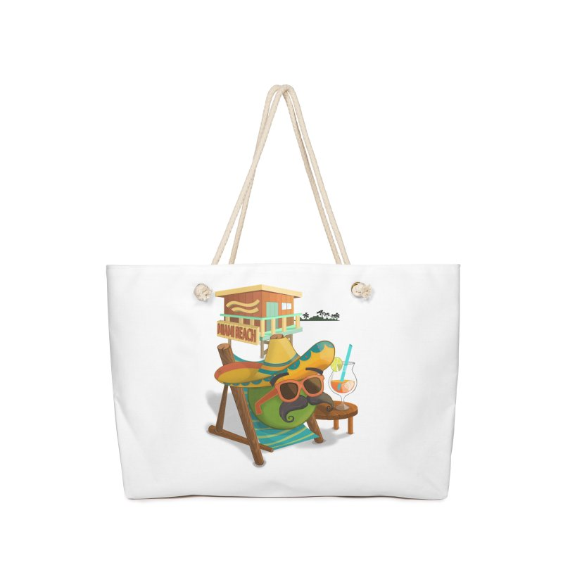 Juan at Miami Beach Accessories Bag by Mimundogames's Artist Shop