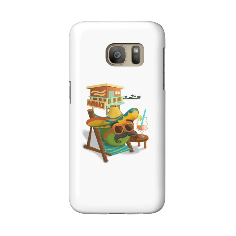 Juan at Miami Beach Accessories Phone Case by Mimundogames's Artist Shop
