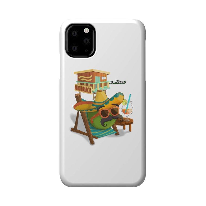 Juan at Miami Beach Accessories Phone Case by Mimundogames's Artist Shop