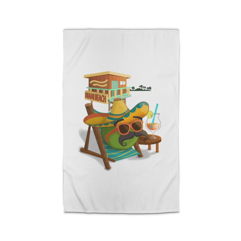 Juan at Miami Beach Home Rug by Mimundogames's Artist Shop