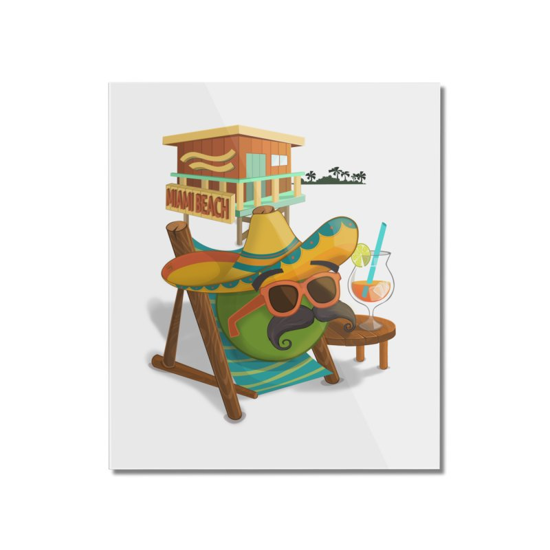 Juan at Miami Beach Home Mounted Acrylic Print by Mimundogames's Artist Shop