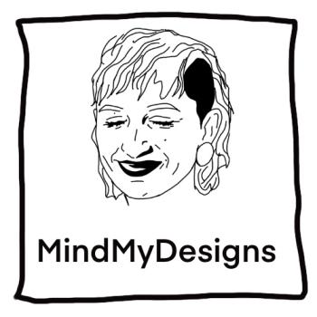 MindMyDesigns Artist Shop Logo