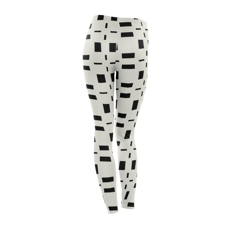 Black Tiles Women's Bottoms by Miniscule Graphics