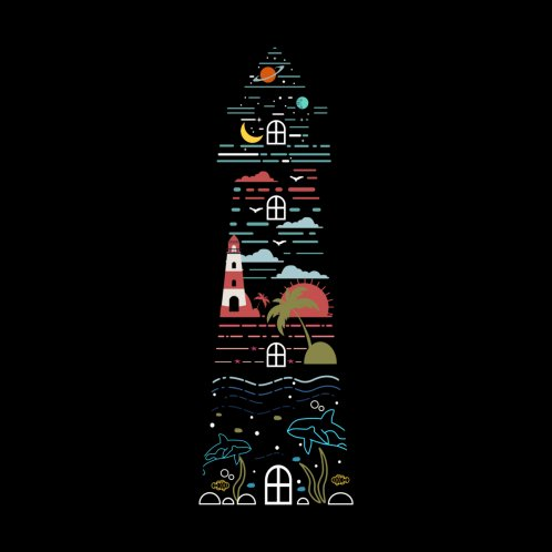 Design for Lighthouse By The Sea