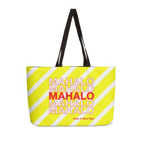 image for Mahalo! (Yellow Stripes)