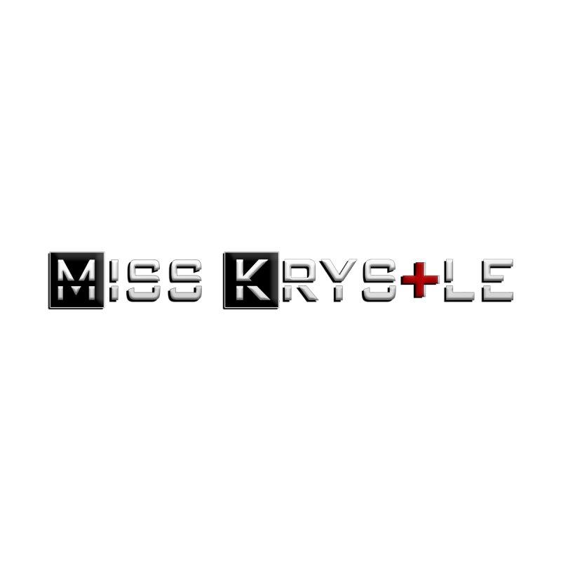 Miss Krystle Logo Design Men's Longsleeve T-Shirt by MissKrystle's Shop