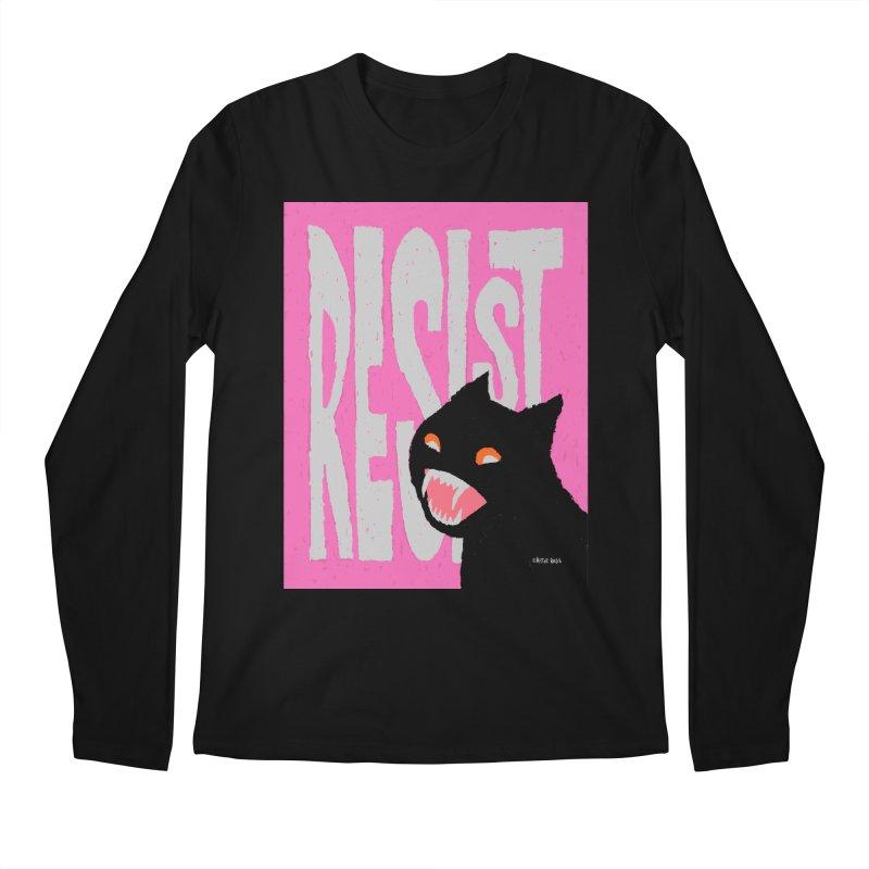RESIST Men's Longsleeve T-Shirt by Mister Reusch's Artist Shop