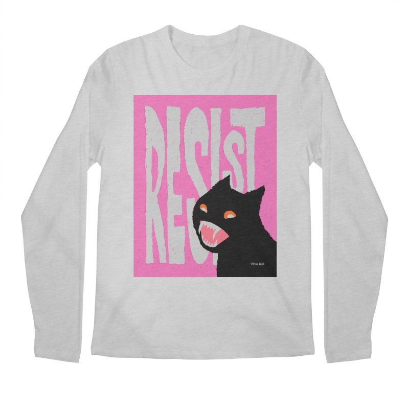 RESIST Men's Longsleeve T-Shirt by Mister Reusch's Artist Shop