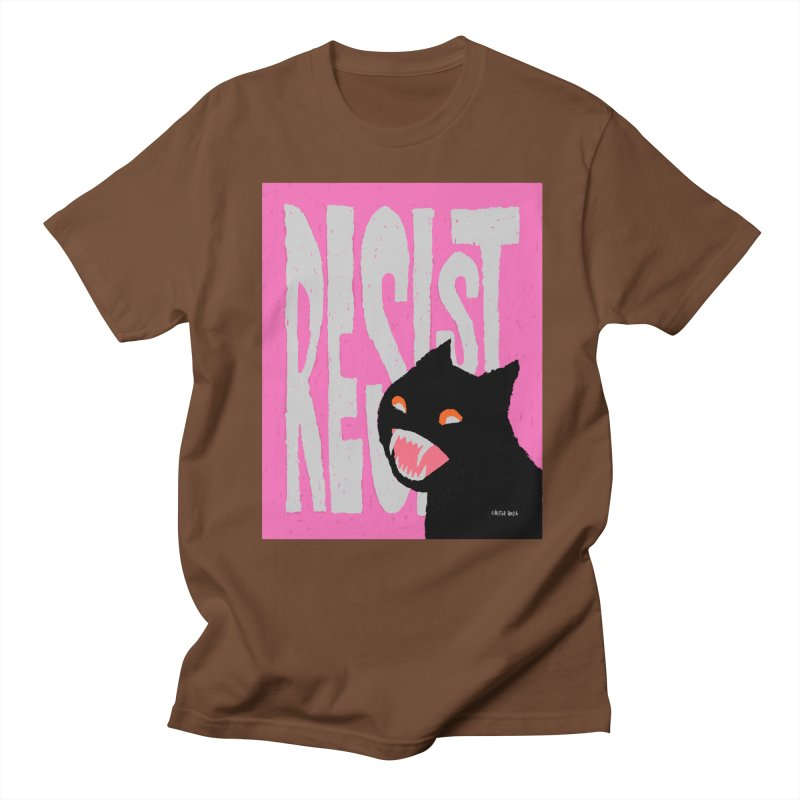 RESIST Women's Unisex T-Shirt by Mister Reusch's Artist Shop