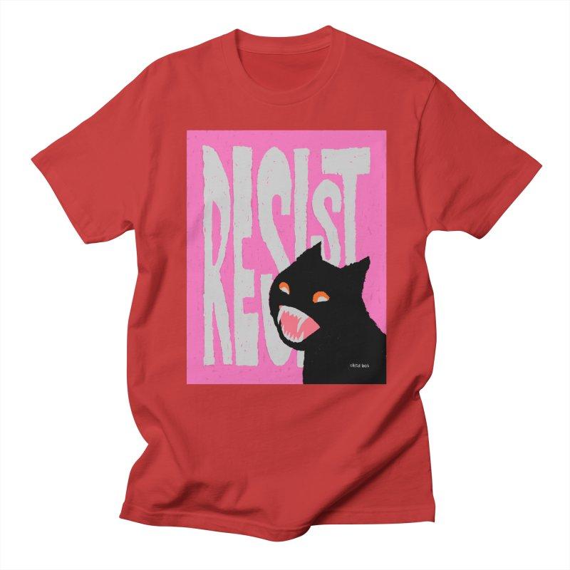 RESIST Men's T-shirt by Mister Reusch's Artist Shop