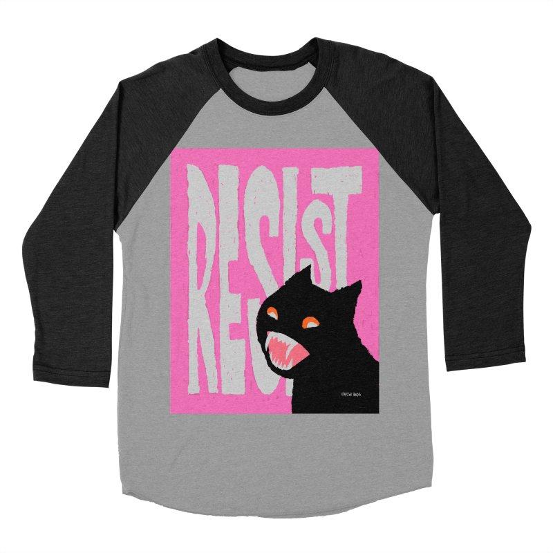 RESIST Men's Baseball Triblend T-Shirt by Mister Reusch's Artist Shop