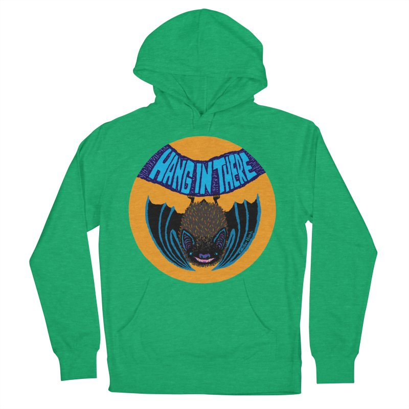 Hang In There Women's Pullover Hoody by Mister Reusch's Artist Shop
