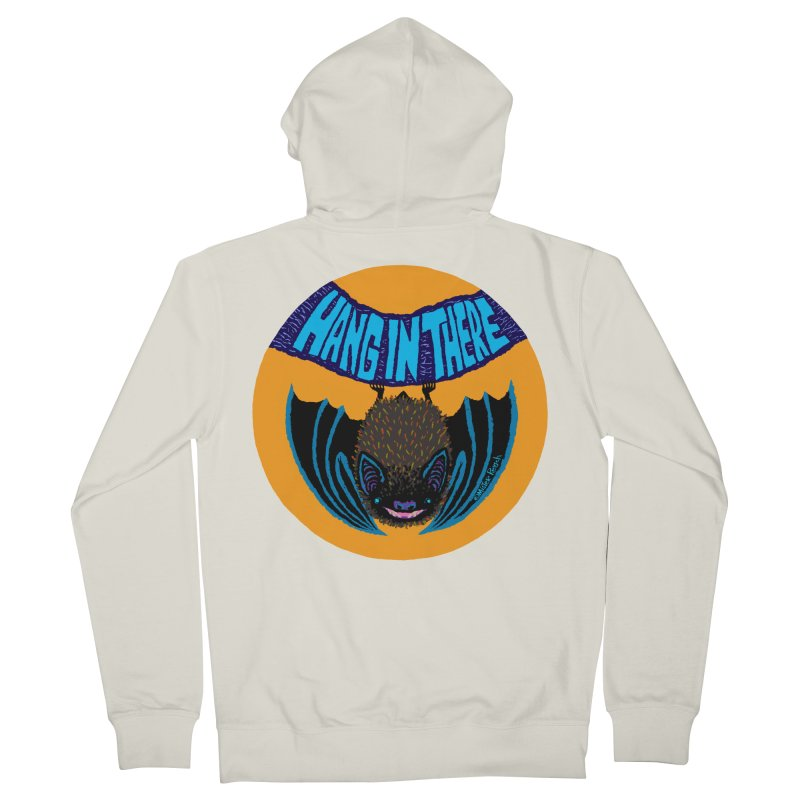 Hang In There Women's Zip-Up Hoody by Mister Reusch's Artist Shop