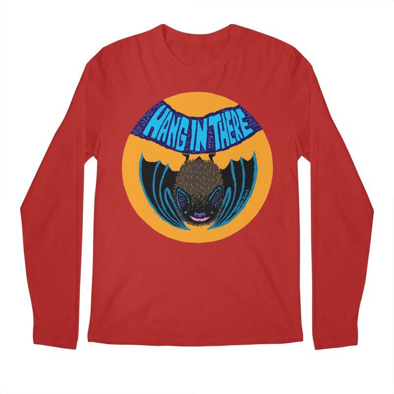 Hang In There Men's Longsleeve T-Shirt by Mister Reusch's Artist Shop