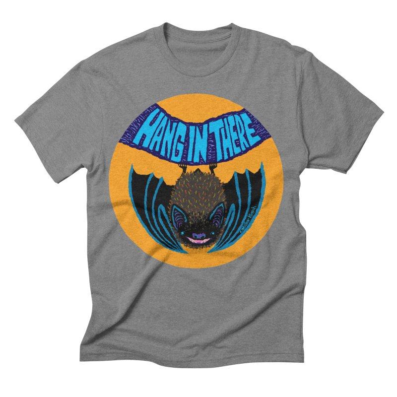 Hang In There Men's Triblend T-shirt by Mister Reusch's Artist Shop