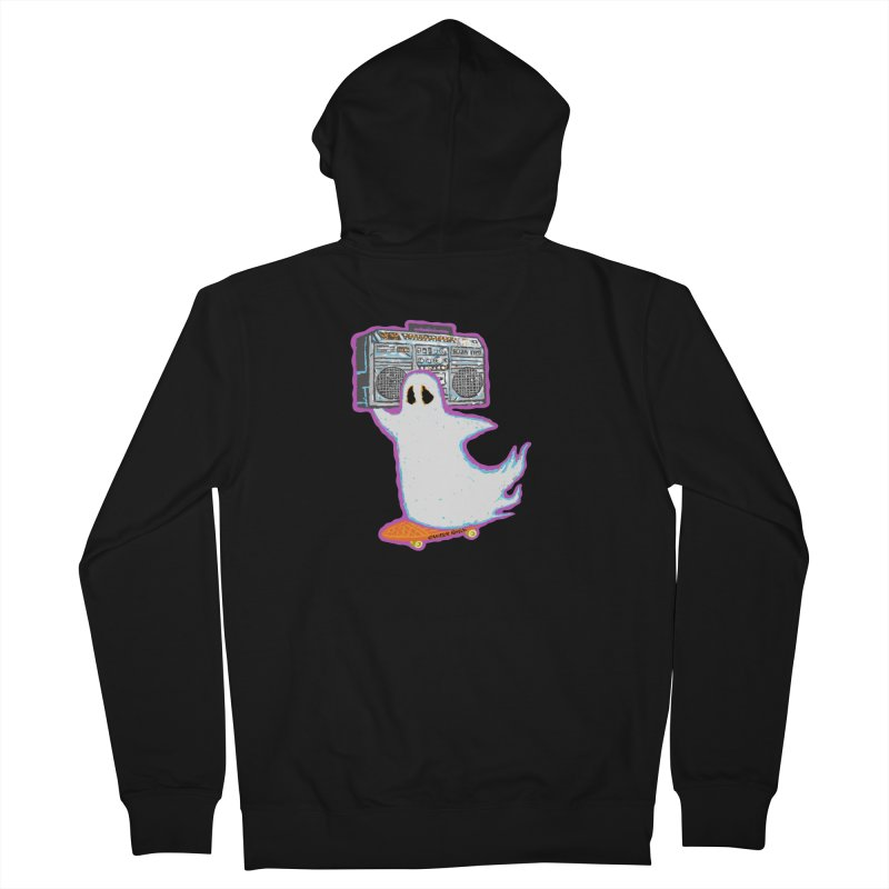 BOOmbox Women's Zip-Up Hoody by Mister Reusch's Artist Shop