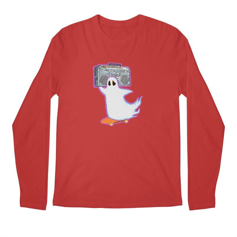 BOOmbox Men's Longsleeve T-Shirt by Mister Reusch's Artist Shop