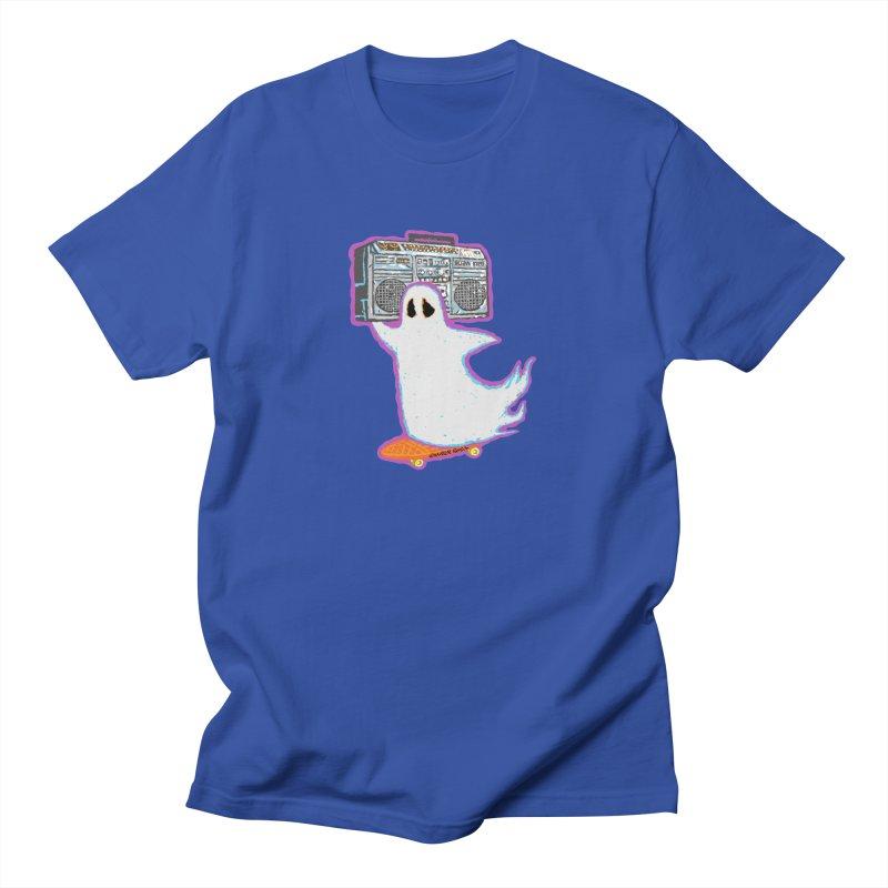 BOOmbox Men's T-shirt by Mister Reusch's Artist Shop