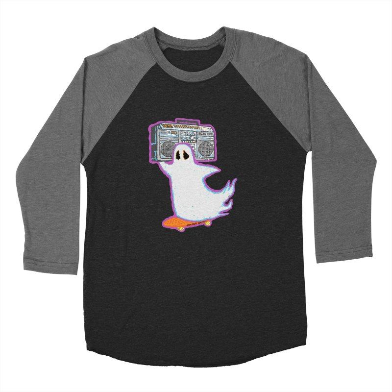 BOOmbox Women's Baseball Triblend T-Shirt by Mister Reusch's Artist Shop