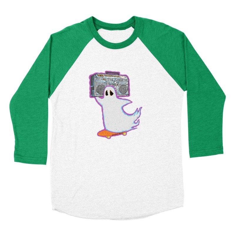 BOOmbox Men's Baseball Triblend T-Shirt by Mister Reusch's Artist Shop