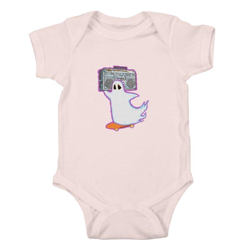 BOOmbox Kids Baby Bodysuit by Mister Reusch's Artist Shop