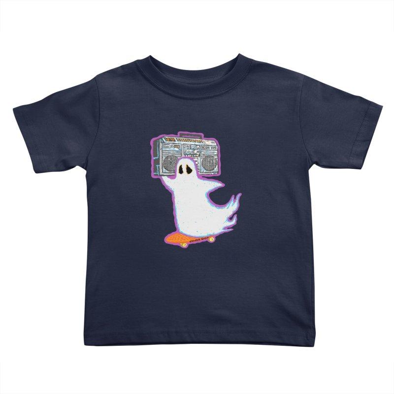BOOmbox Kids Toddler T-Shirt by Mister Reusch's Artist Shop