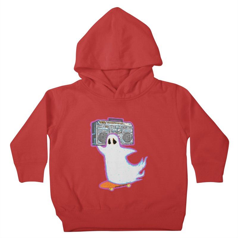 BOOmbox Kids Toddler Pullover Hoody by Mister Reusch's Artist Shop