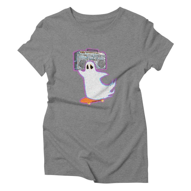 BOOmbox Women's Triblend T-Shirt by Mister Reusch's Artist Shop