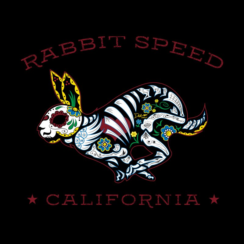 Rabbit Speed Dia de Los Conejos by MisterSidd's Artist Shop