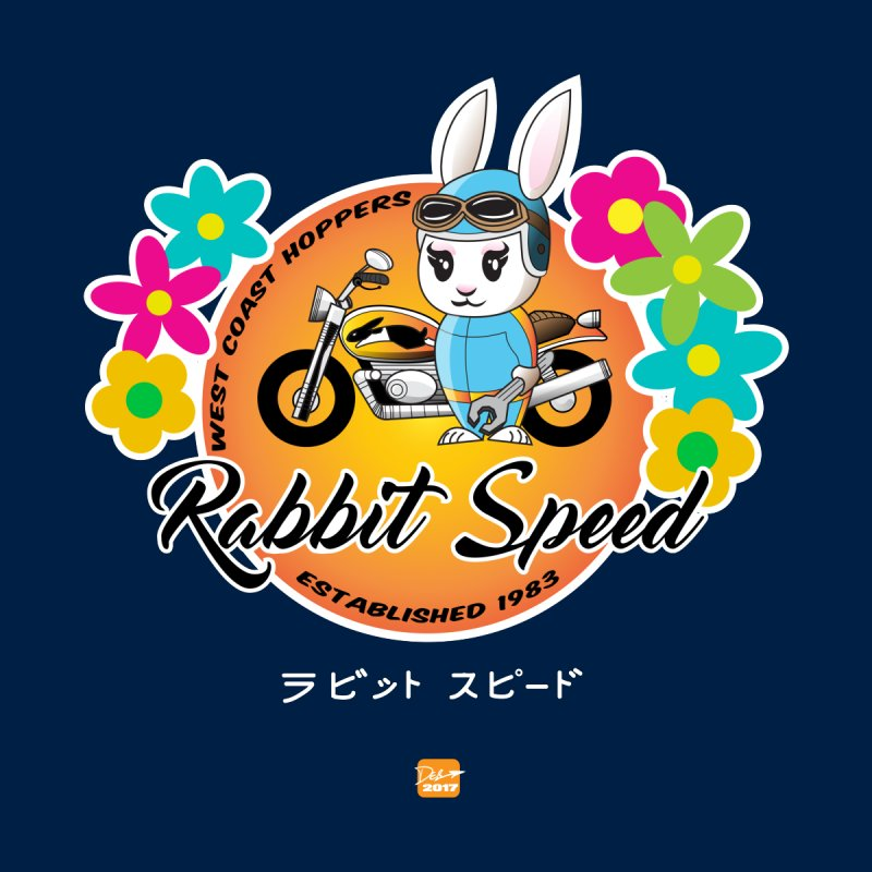 Rabbit Speed Biker Girl by MisterSidd's Artist Shop