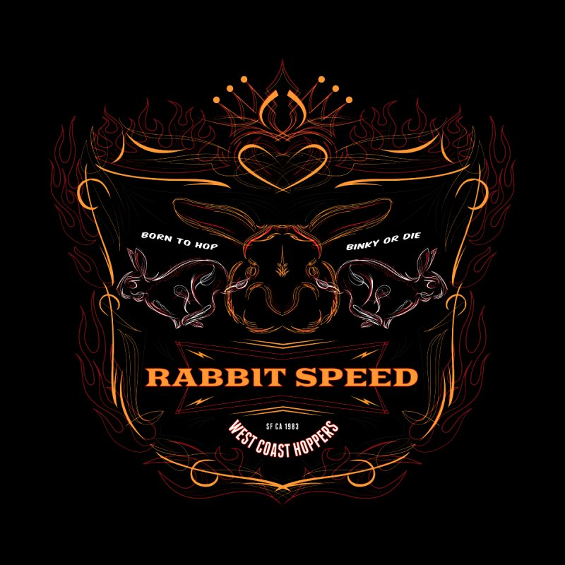Rabbit Speed Kustoms Shield  by MisterSidd's Artist Shop