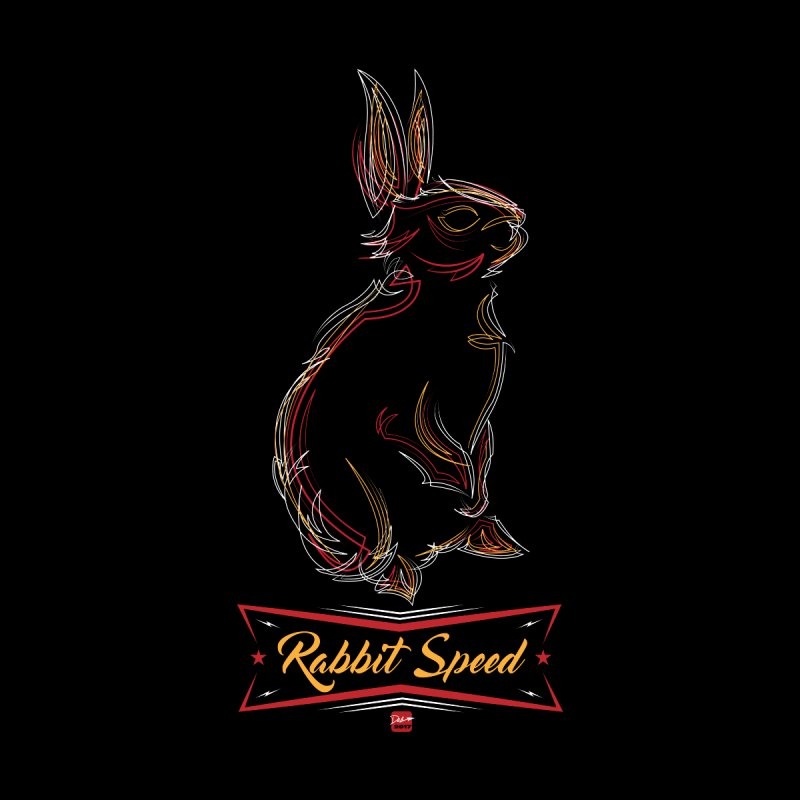 Rabbit Speed Pinstripe Bunny  by MisterSidd's Artist Shop