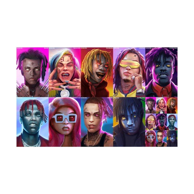 New Rap Super Hero Protraits Variant by Miyghty's Artist Shop