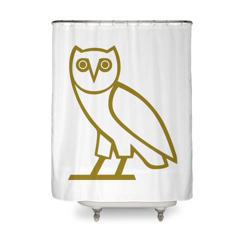 Drake Owl OVO Home Shower Curtain By MochBoys Artist Shop
