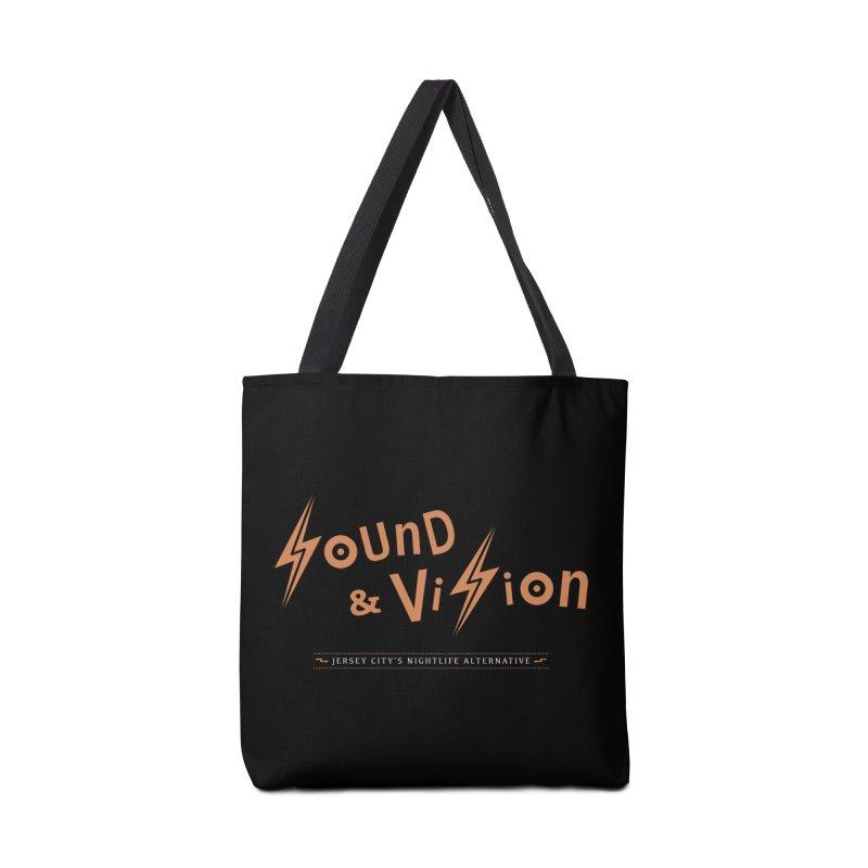 Sound & Vision Logo Accessories Bag by Modernist Press's Artist Shop