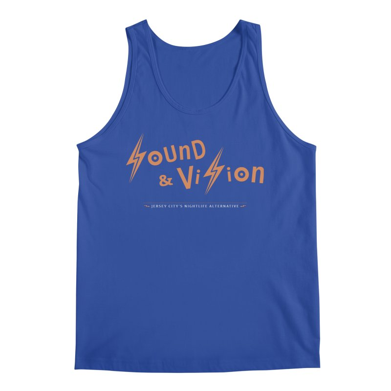 Sound & Vision Logo Men's Tank by Modernist Press's Artist Shop