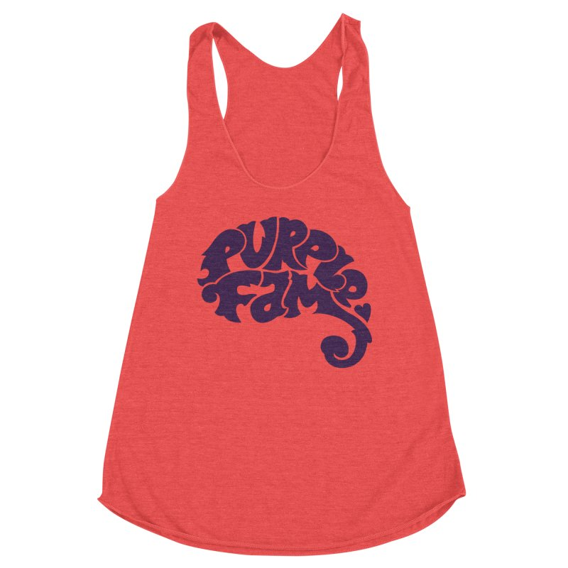 Purple Fam Logo (purple print) Women's Tank by Modernist Press's Artist Shop