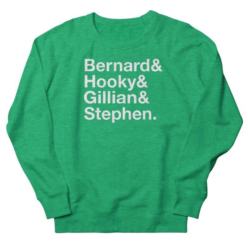 New Order Text Design (white print) Women's Sweatshirt by Modernist Press's Artist Shop