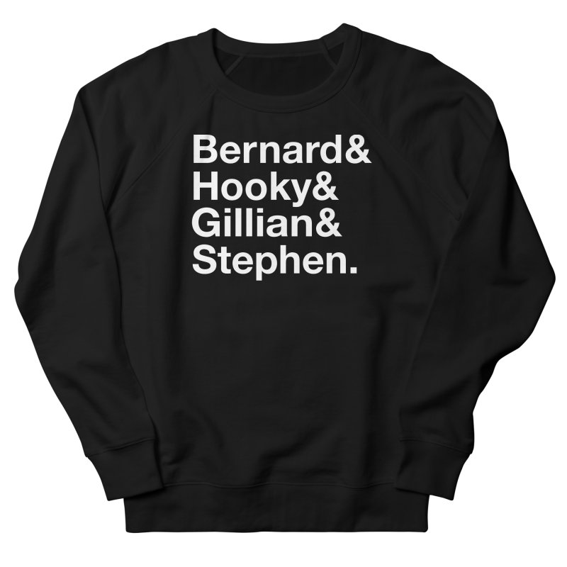 New Order Text Design (white print) Men's Sweatshirt by Modernist Press's Artist Shop